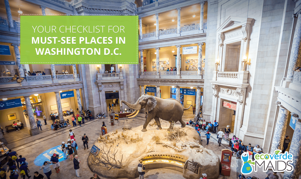 Your Checklist for Must-See Places in Washington D.C.