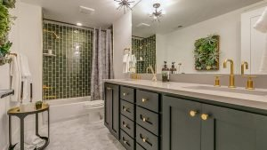 Bathroom cleaning and sanitization